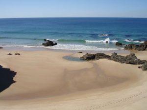 Beach near Monte Horizonte Portugal