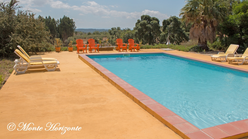 Pool Casa Camélia Birding Holiday Portugal